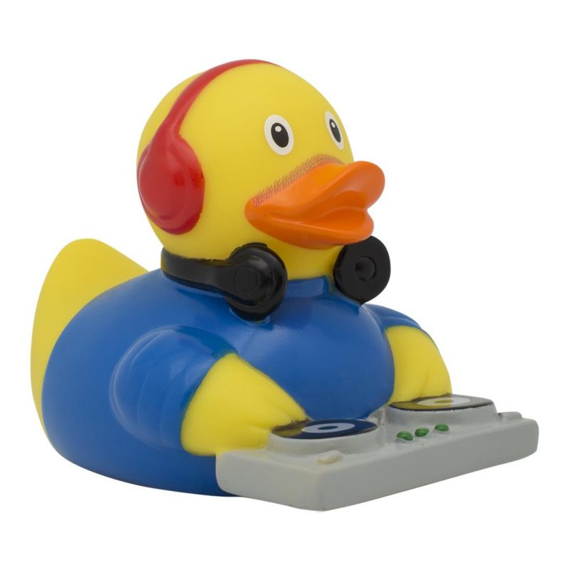 DJ rubber duck Amsterdam Duck Store