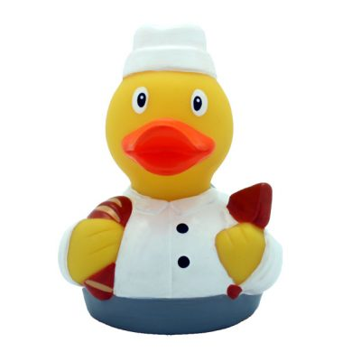 baker rubber duck