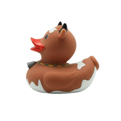 cow rubber duck brown