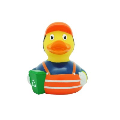 garbageman rubber duck