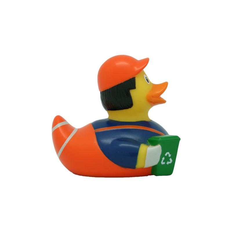 garbageman rubber duck