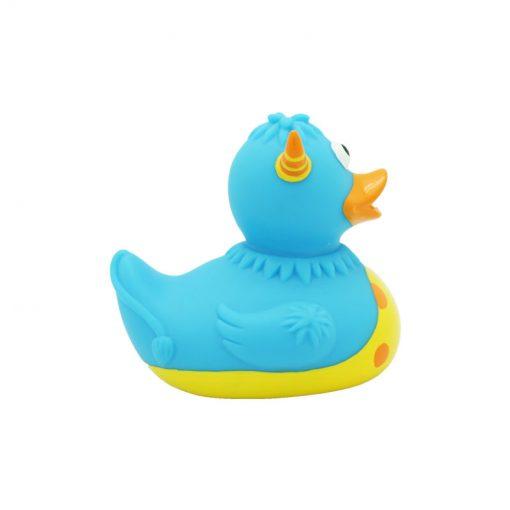 monster blue rubber duck
