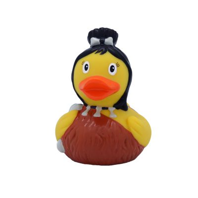 neanderthal woman rubber duck