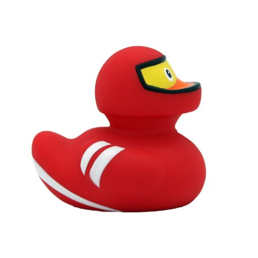 racer rubber duck