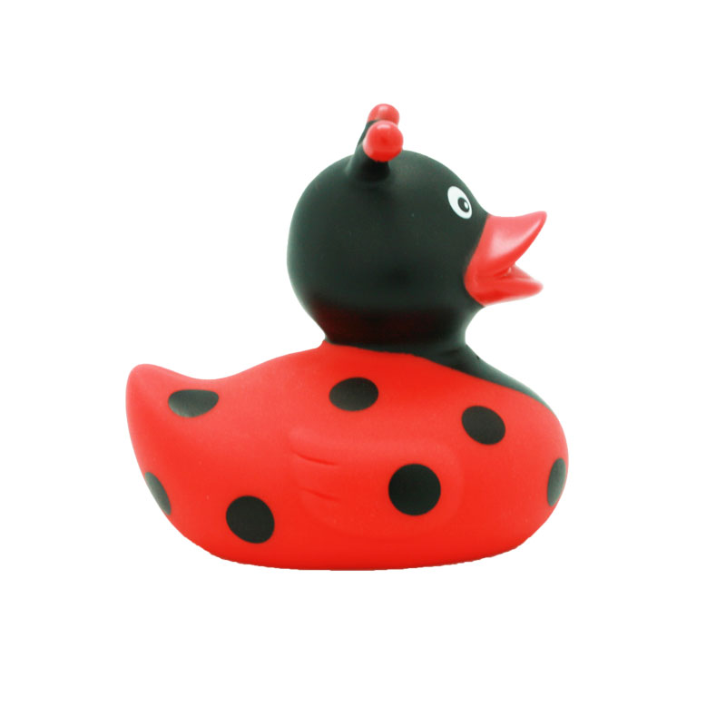 lady bug rubber duck