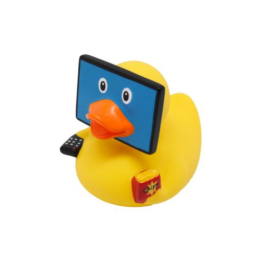 television rubber duck