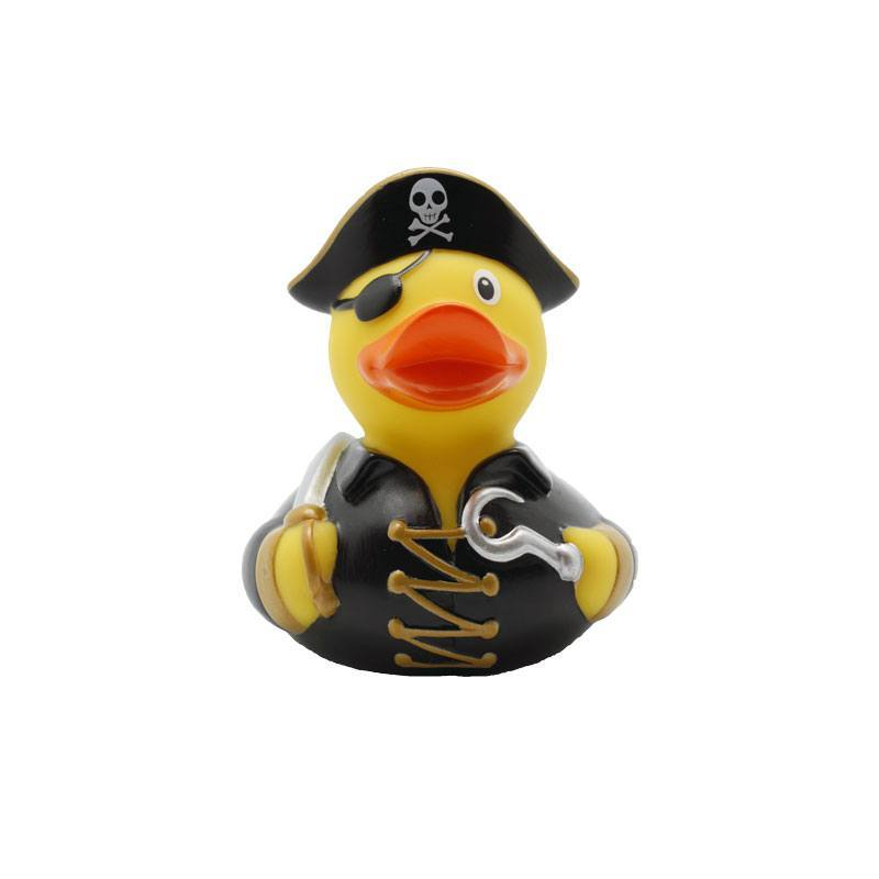 pirate rubber duck black - Amsterdam Duck Store