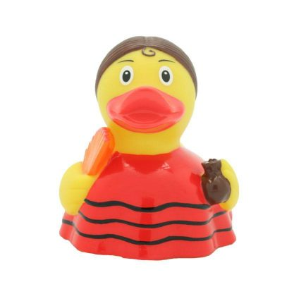 flamenco rubber duck