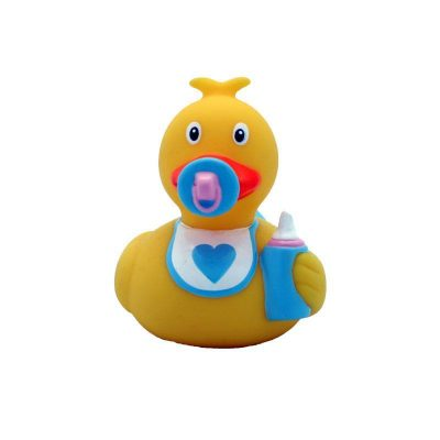 baby boy rubber duck