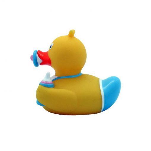 baby boy rubber duck