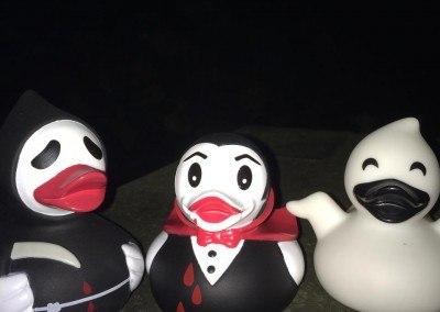 Scary Rubber Ducks