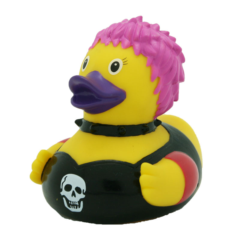 Punky Woman Rubber Duck | Buy premium rubber ducks online - world ...