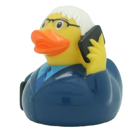 business man rubber Amsterdam Duck Store