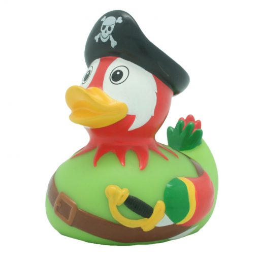 pirate parrot rubber duck Amsterdam Ducks Store