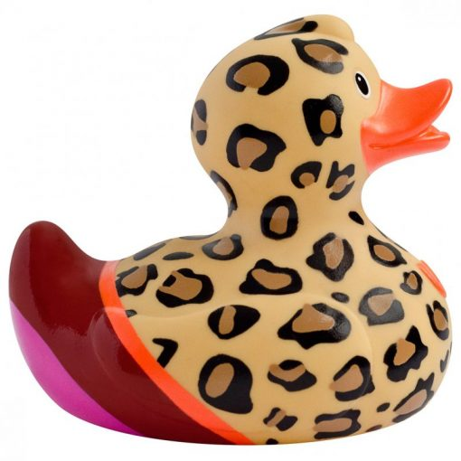 leopard rubber duck Amsterdam Duck Store