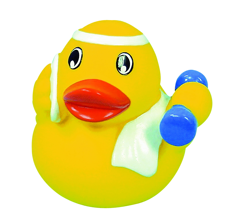 Fitness Rubber Duck Amsterdam Duck Store