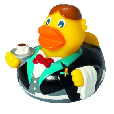 Waiter rubber duck Amsterdam Duck Store