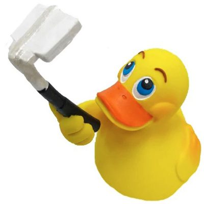Selfie rubber duck - Amsterdam Duck Store -Duck shop