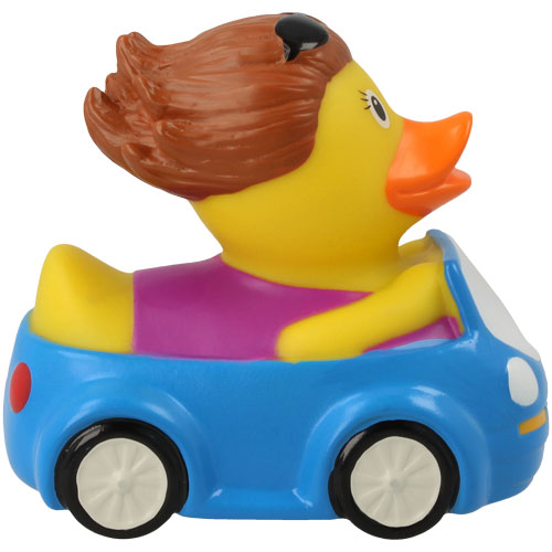 Driver Woman Rubber Duck