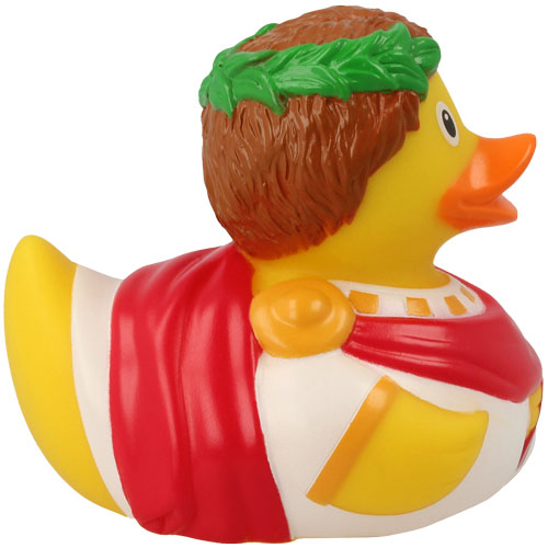 Caesar rubber duck