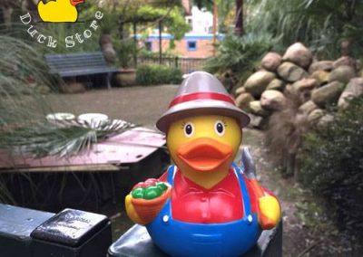 Farmer rubber duck Garden Prinseneiland Amsterdam Duck Store