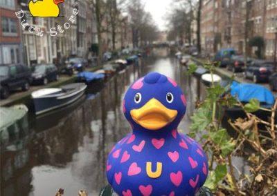 Heart rubber duck Egelantiersgracht Amterdam Duck Store