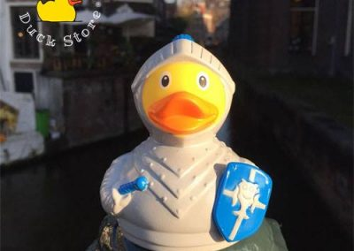 Knight rubber duck Rokin Amsterdam Duck Store