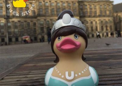 Princess rubber duck Dam Palace Amsterdam Duck Store