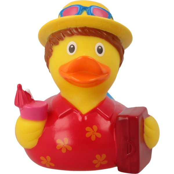 Holiday Man Rubber Duck