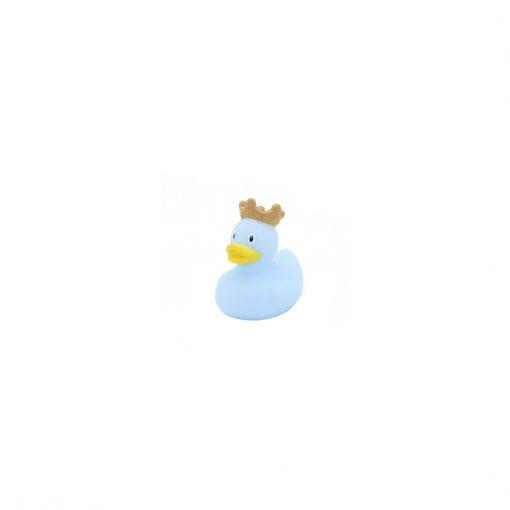 Blue mini rubber duck crown Amsterdam Duck Store