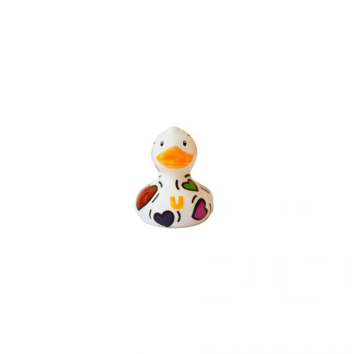 Mini pop heart rubber duck Amsterdam Duck Store