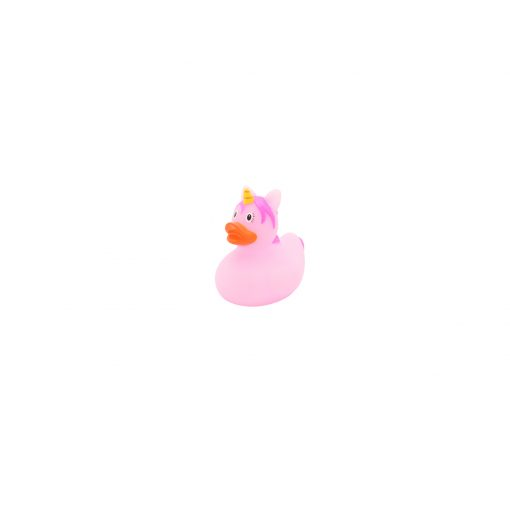 Mini pink unicorn rubber duck