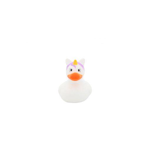 White unicorn mini rubber duck Amsterdam Duck Store
